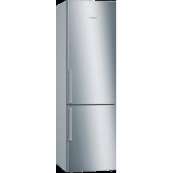 Bosch KGE39EI4P RVS Koel-/vriescombinatie 201 cm hoog