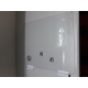 Pelgrim PF7160Wit glasplaat met houders